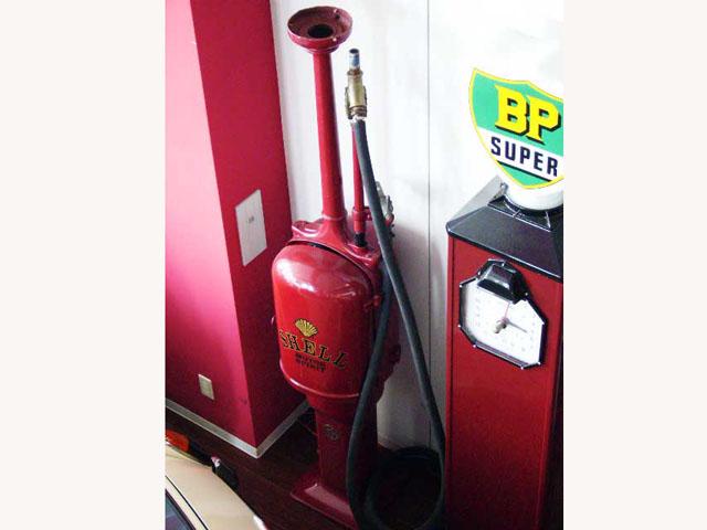 画像2: ガソリンポンプ Shell  レストア済