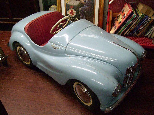 画像1: ペダルカー Austin J40 オースチンJ40(ペール ブルー)