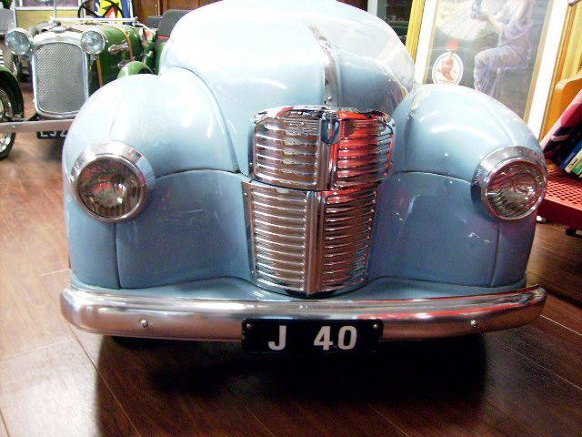画像2: ペダルカー Austin J40 オースチンJ40(ペール ブルー)
