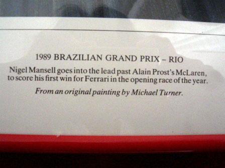 画像2: ポスター 1989 F1 Rio