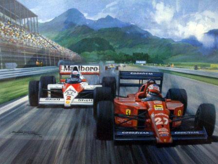 画像3: ポスター 1989 F1 Rio