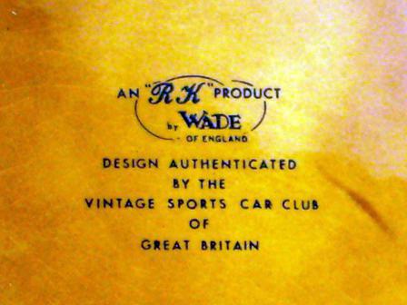 画像3: Wade社 Veteran Car シリーズ マグカップ Bugatti