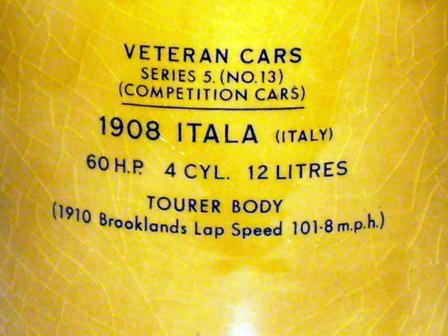 画像4: Wade社 Veteran Car シリーズ マグカップ Itala