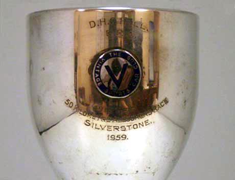 画像2: トロフィー・シルバープレート Vintage Sports Car Club1959  D.Hull ERA