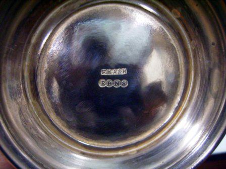 画像2: シルバープレート カップ Bugatti owners club D.Hull 1958