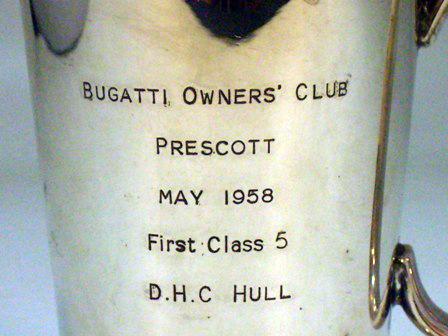 画像3: シルバープレート カップ Bugatti owners club D.Hull 1958