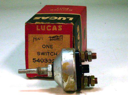 画像3: フロアー・スターター スイッチ MK1 純正 未使用 箱つき