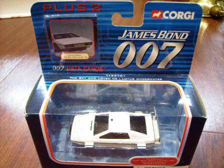 画像1: ミニカー  Corgi 「007 The spy who loved me」