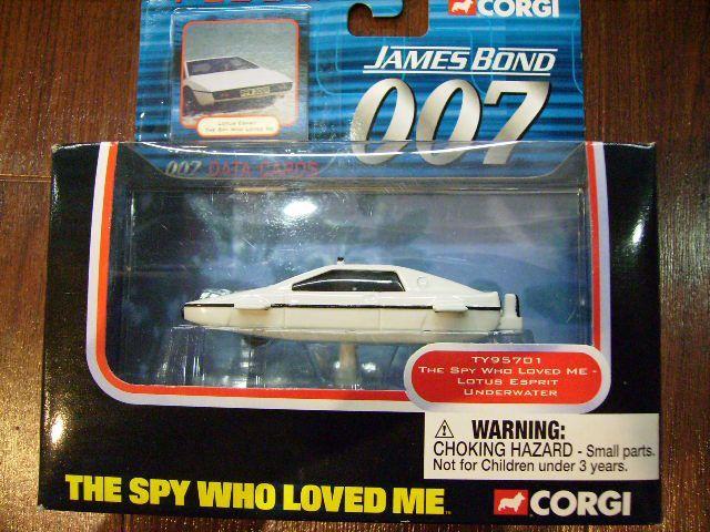 画像2: ミニカー  Corgi 「007 The spy who loved me」