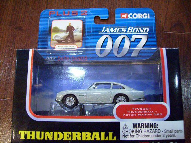 画像1: ミニカー  Corgi 「007 Thunderball」