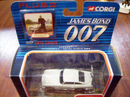 画像2: ミニカー  Corgi 「007 Thunderball」