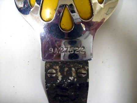 画像2: AA バッジ オリジナル ブラケット付き