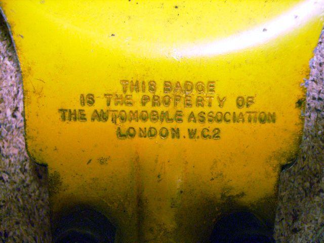 画像5: AA バッジ オリジナル ブラケット付き