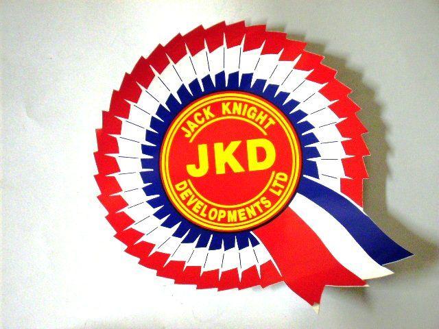 画像1: ジャックナイト JKD オリジナル デカール
