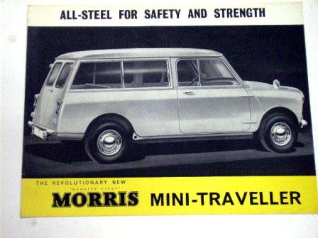 画像1: Morris Mini Traveller  オリジナル 当時物