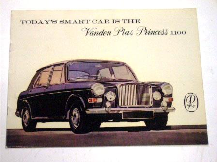 画像1: Vanden Plas Princess 1100 オリジナル 当時物