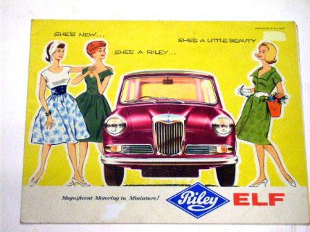 画像1: 1961y' Riley Elfオリジナル 当時物