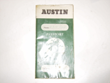画像1: 小冊子 Austin Passport to service
