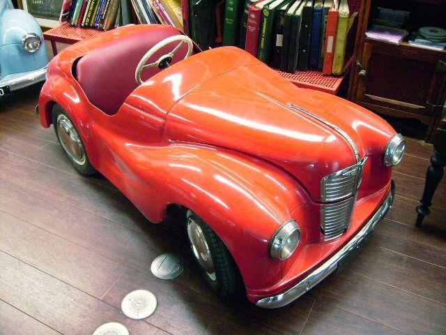 画像1: ペダルカー Austin J40 オースチンJ40(レッド)