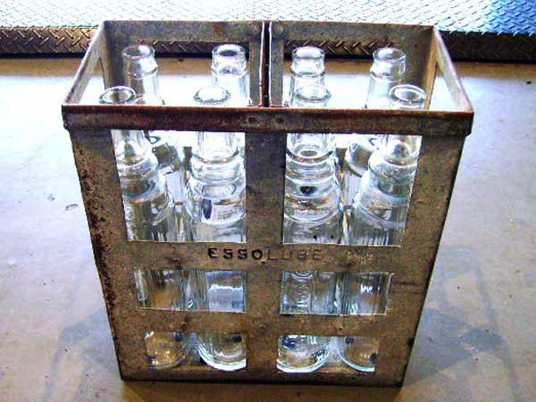 画像1: オイルボトル 8本SET Esso