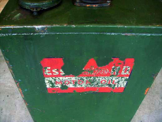 画像3: オイルタンク 1口 Esso