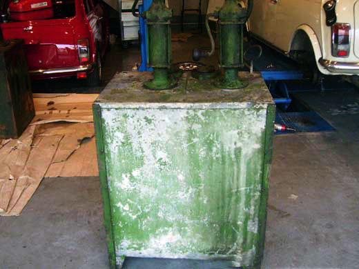 画像1: オイルタンク 2口