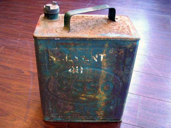 画像1: オイル缶 Esso