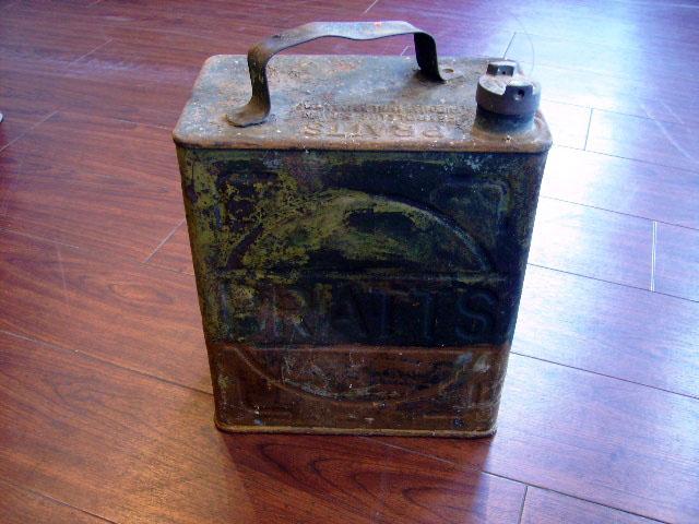 画像1: オイル缶 Pratts