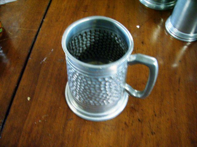 画像1: DUNLOP ピューター マグカップ