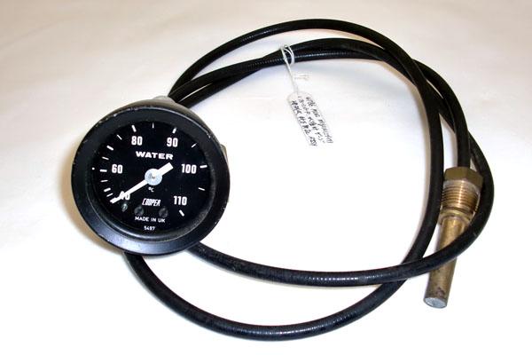 画像1: MINI miglia(ミグリア) フォーミュラーR 水温計 ゲージ 機械式 純正 新品