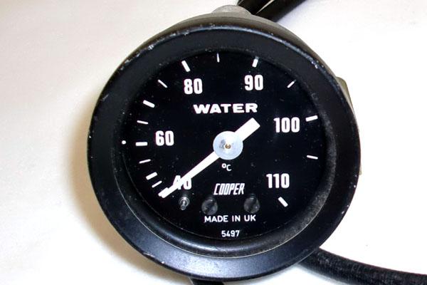 画像2: MINI miglia(ミグリア) フォーミュラーR 水温計 ゲージ 機械式 純正 新品
