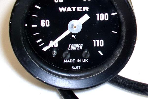 画像3: MINI miglia(ミグリア) フォーミュラーR 水温計 ゲージ 機械式 純正 新品