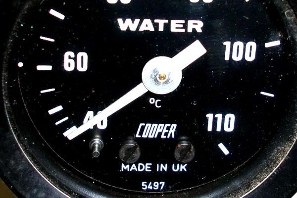 画像4: MINI miglia(ミグリア) フォーミュラーR 水温計 ゲージ 機械式 純正 新品
