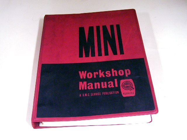 画像1: MINI WORKSHOP MANUAL