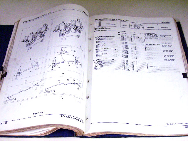 画像5: SU SERVICE PARTS LISTS BMC