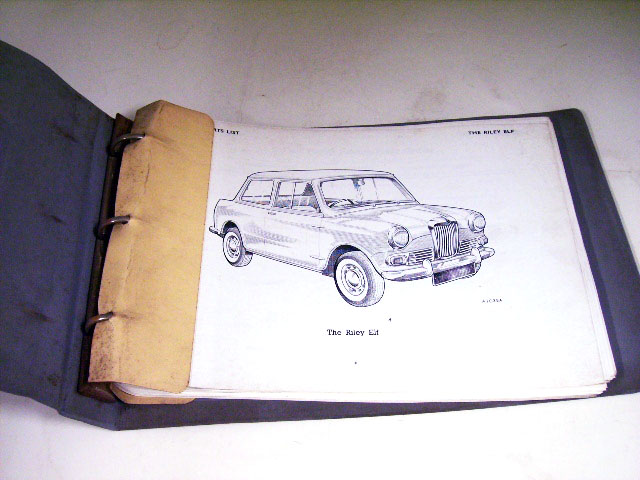 画像2: RILEY MK-1.2 SERVICE PARTS LIST BMC