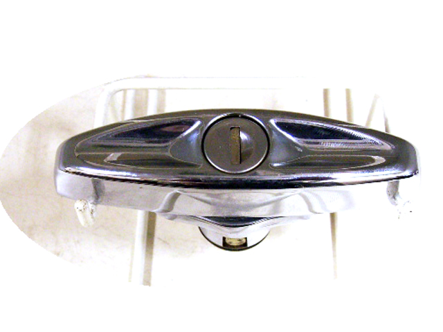 画像3: クロムメッキ ドアハンドルセット 新品
