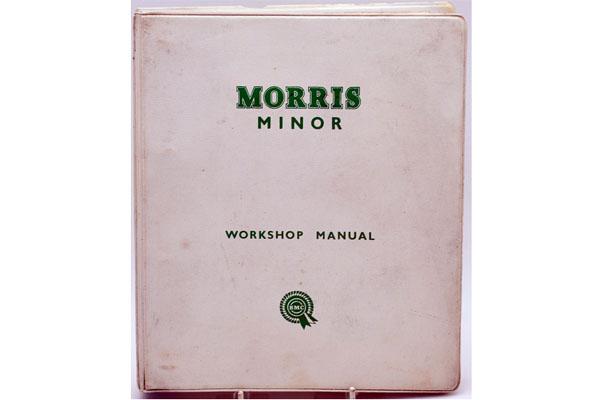 画像1: Morris Minor Workshop Manual