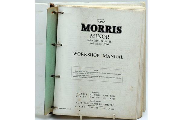 画像2: Morris Minor Workshop Manual