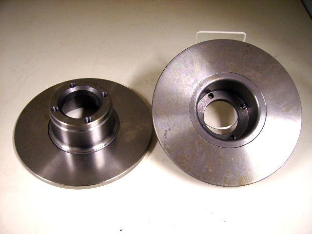 画像1: 英国製 ブレーキローター 12インチ 2個セット