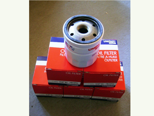 画像1: GFE405 オイルフィルター MT用 97年式から 5個セット