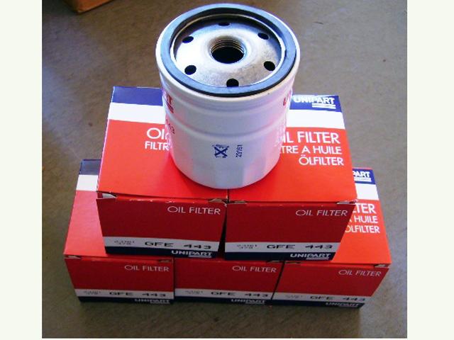 画像1: GFE443 オイルフィルター MT用 96年式まで 5個セット