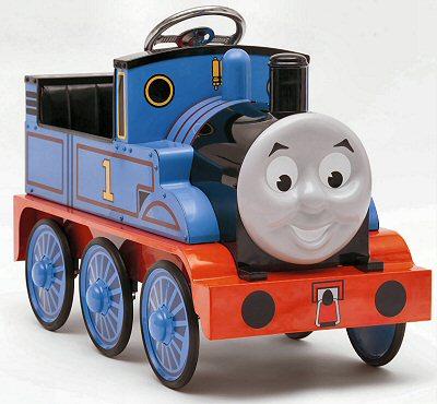 画像1: 英国製 ペダル・カー「機関車トーマス (Thmas the Tank Engine)」 (シリアルナンバー入り)